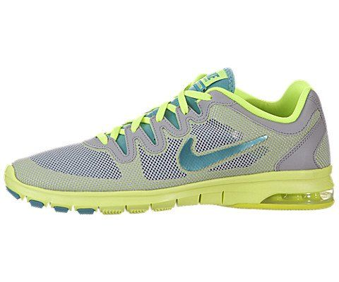 AwesomeNice Nike Air Max Fusion Cross Trainer Grey Volt Turquoise Ladies  Athletic Shoes Nike c6a438df70
