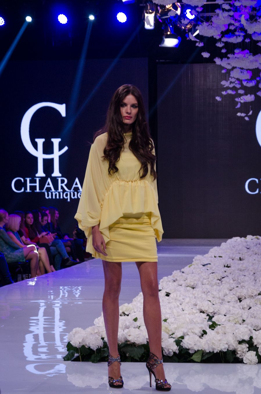 Chara Unique Welcome Spring/Summer collection 2016- Bloom on the stage in  Sofia Fashion Week, Designed By Tanya Chavdarova. www.charafashion.com
