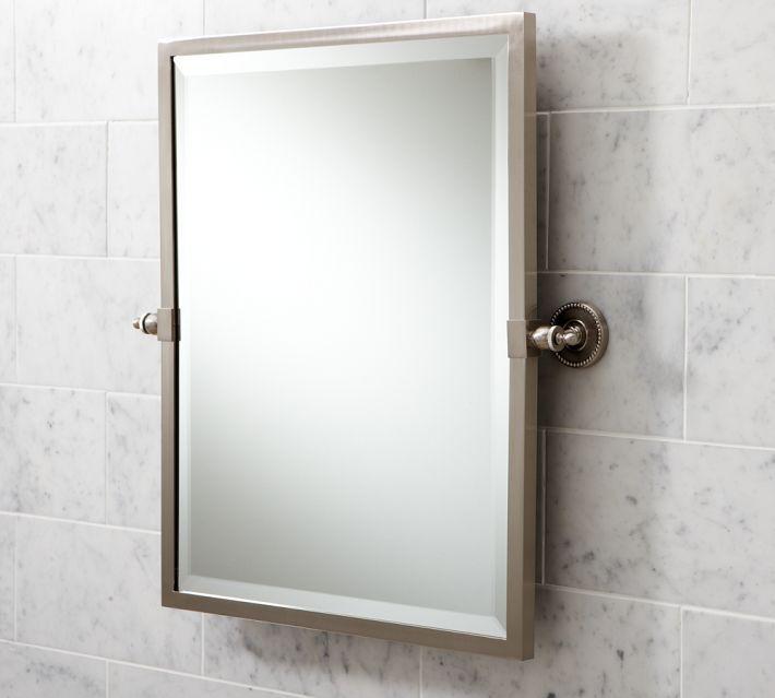 pottery barn | Bath mirror, Beveled mirror, Mirror