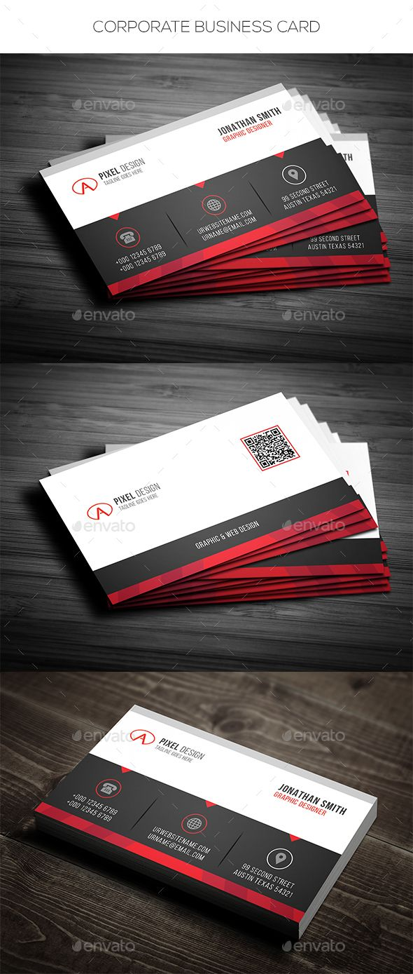 Corporate business card pinterest corporate business business corporate business card corporate business cards download here httpsgraphicriveritemcorporate business card 19356347srank75refal fatih colourmoves