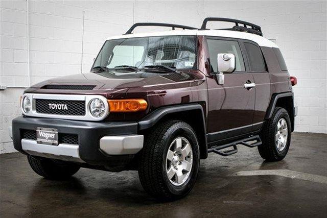 Toyota Fj Cruiser Black Cherry Pearl