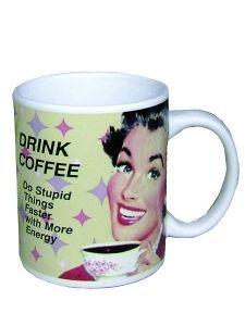 Muki Drink coffee..