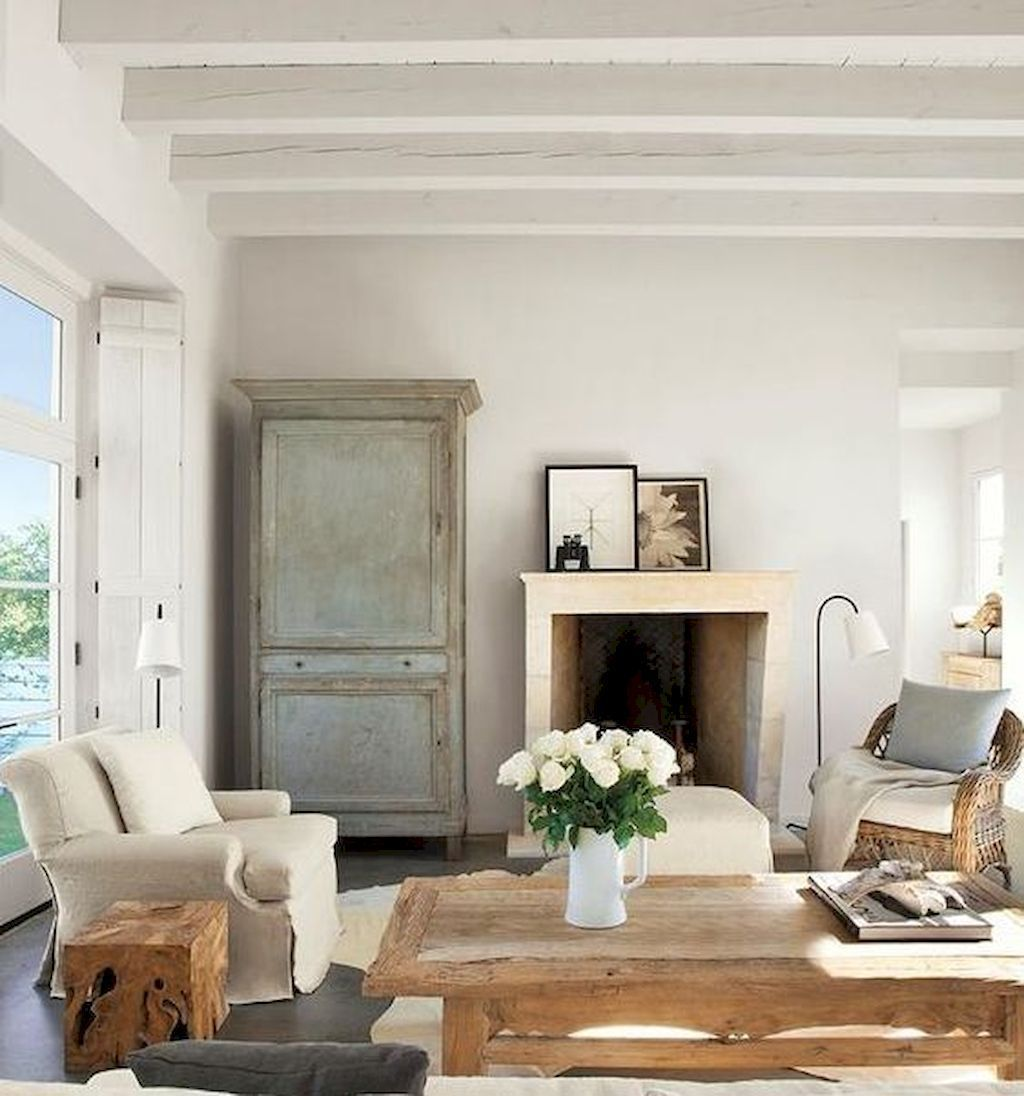16 Stunning French Style Living Room Ideas: Beautiful French Country Living Room Decor Ideas (48)