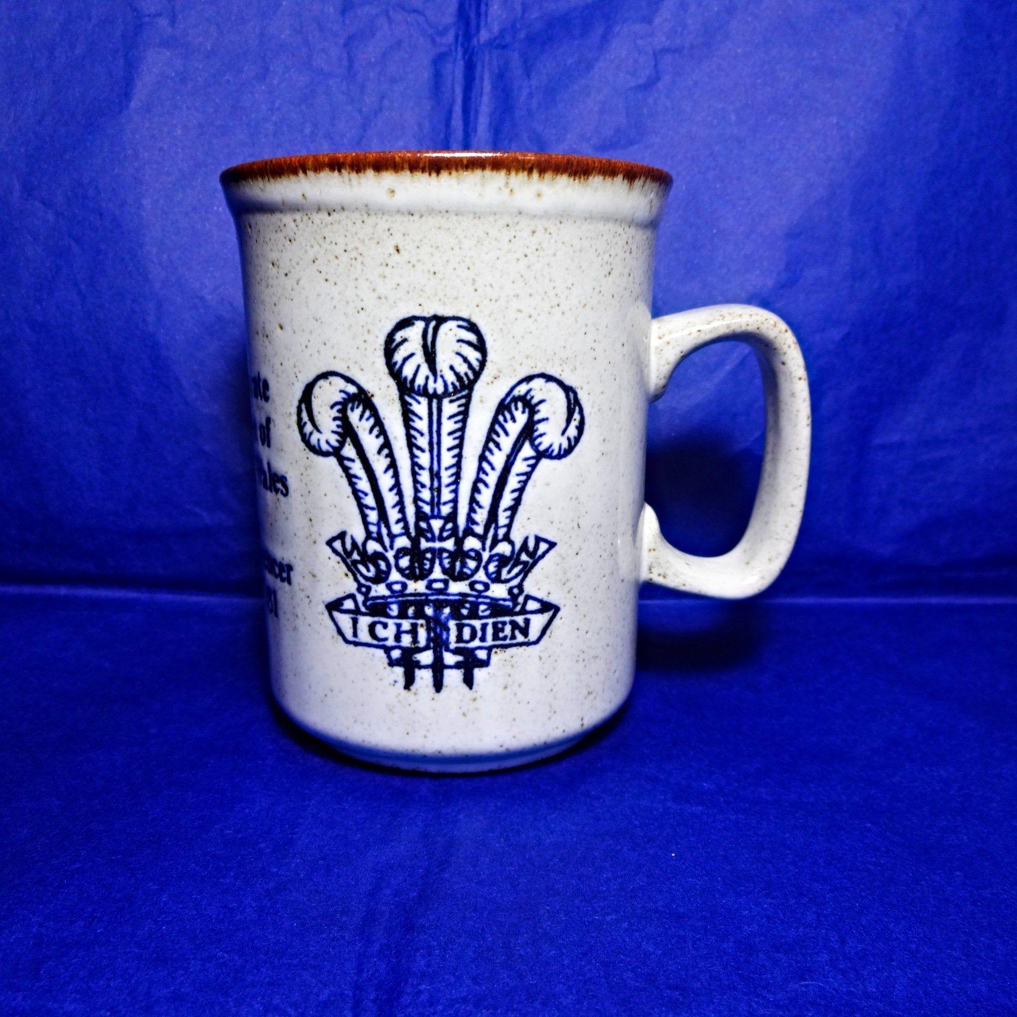 Dunoon Pottery 1981 Royal Wedding Prince Charles Lady