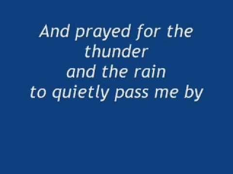 thunder and rain sweet child of mine