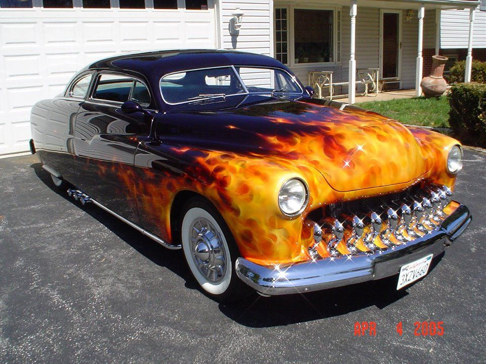 Now That Is A Flame Job Vintage Classic Cars Pinterest Cars