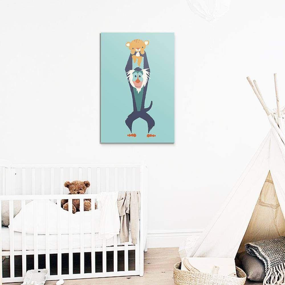 Tableau Roi Lion - Collection Enfant  Chambre bébé roi lion, Le