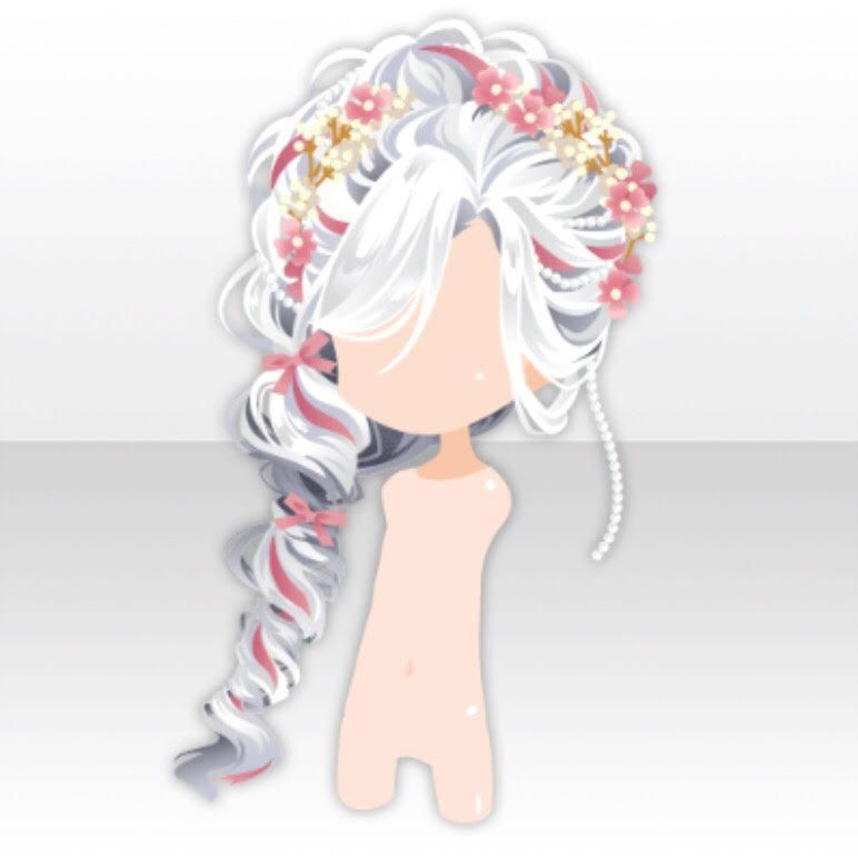 Elegant Tea Time Chibi Hair Manga Hair Anime Hair