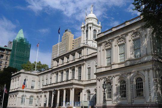 The New York City Hall