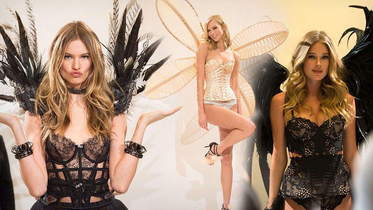 """HIMMLISCH VERFÜHRERISCH! Hier lernen die """"Victoria's Secret""""-Engel fliegen"""