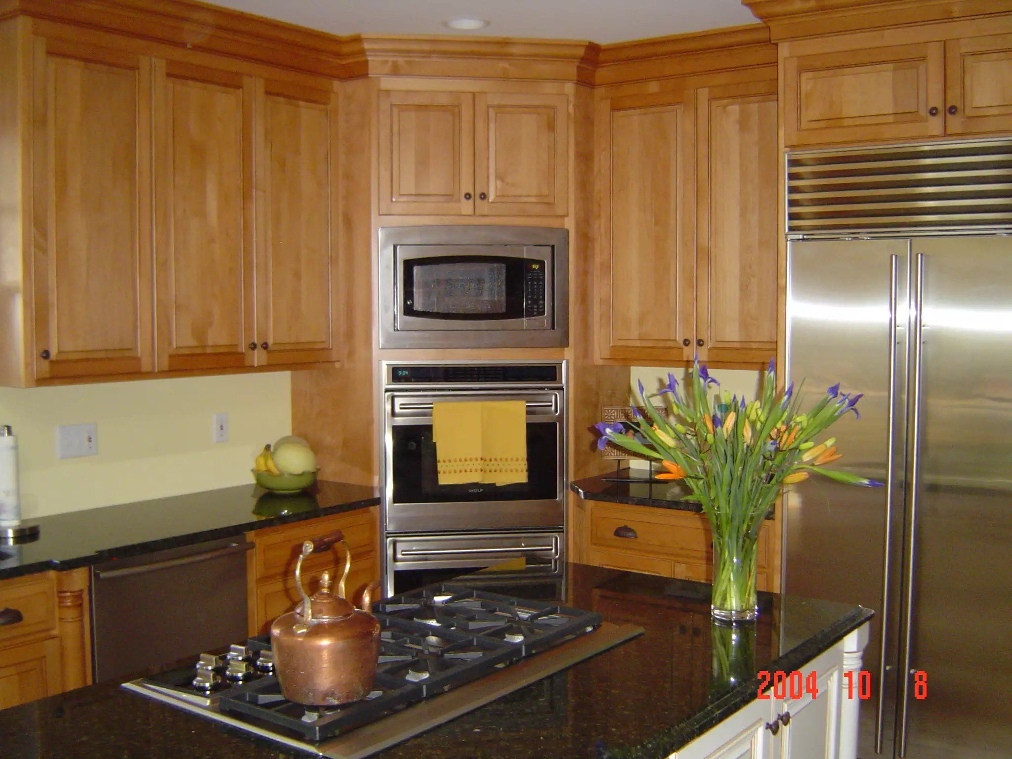 Custom Stained Kitchen Cabinetry By Prestige Cabinets Stained Kitchen Cabinets Custom Cabinetry Cabinetry