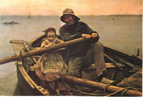Emile Renouf The Helping Hand Small Boats Pinterest