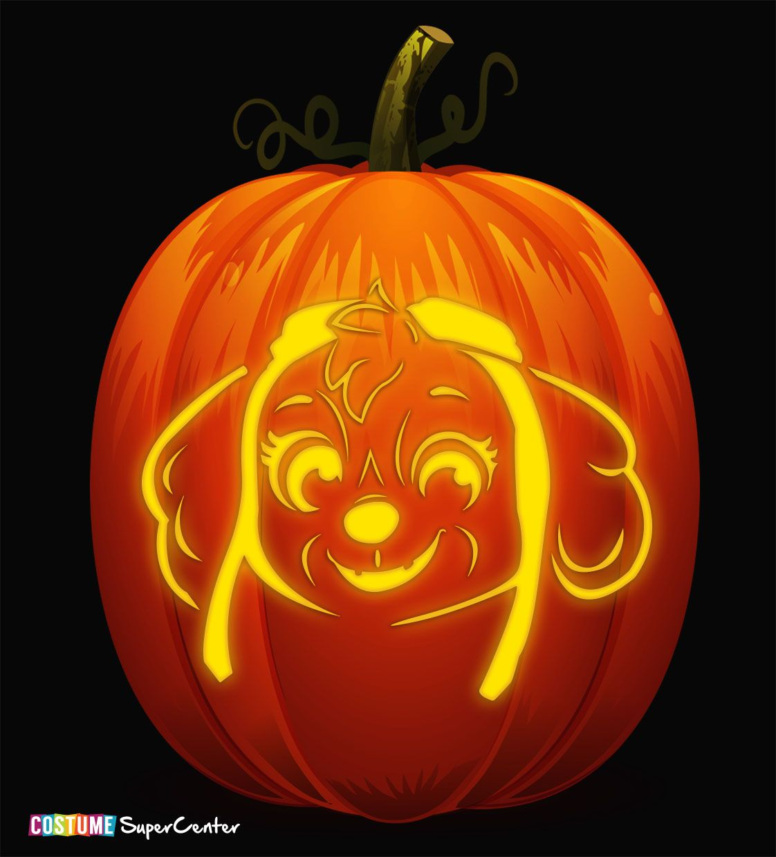 FREE Paw Patrol Pumpkin Stencils - Paw patrol pumpkin stencil, Pumpkin stencil, Pumpkin, Pumpkin carvings stencils, Skye paw patrol, Pumpkin carving patterns - Fetch the squad and get ready to search for the best pumpkin in the patch  Why, you ask  Because we've got some free pumpkin carving stencils that will save the day  When you're patroll…