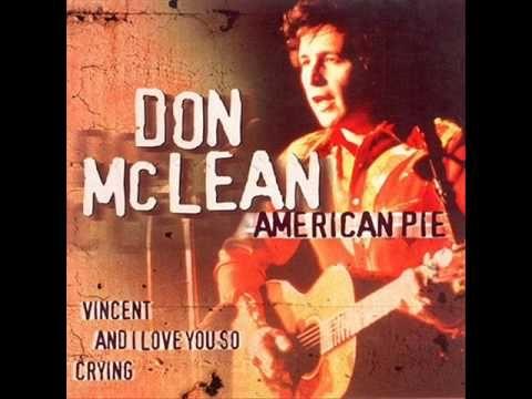 Don Mclean-American pie - YouTube