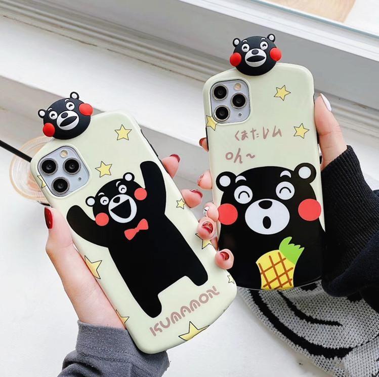 Cartoon kumamon phone case for iphone 77plus88pxxsxr