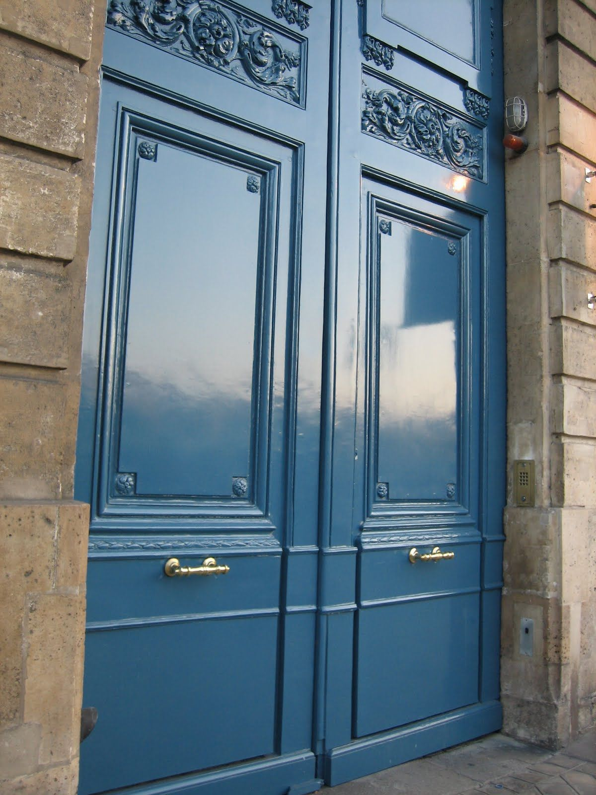 French Blue Br And Tan Color Palette Combination Exterior Paint