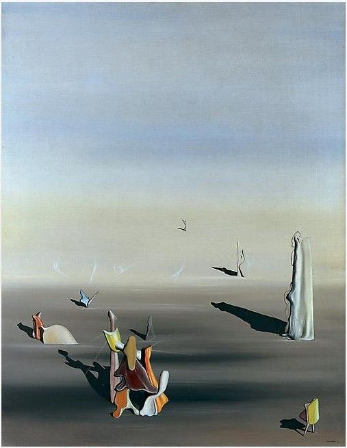yves tanguy 1939 le grand nacr abstract art8 pinterest surrealism and oil pastel. Black Bedroom Furniture Sets. Home Design Ideas
