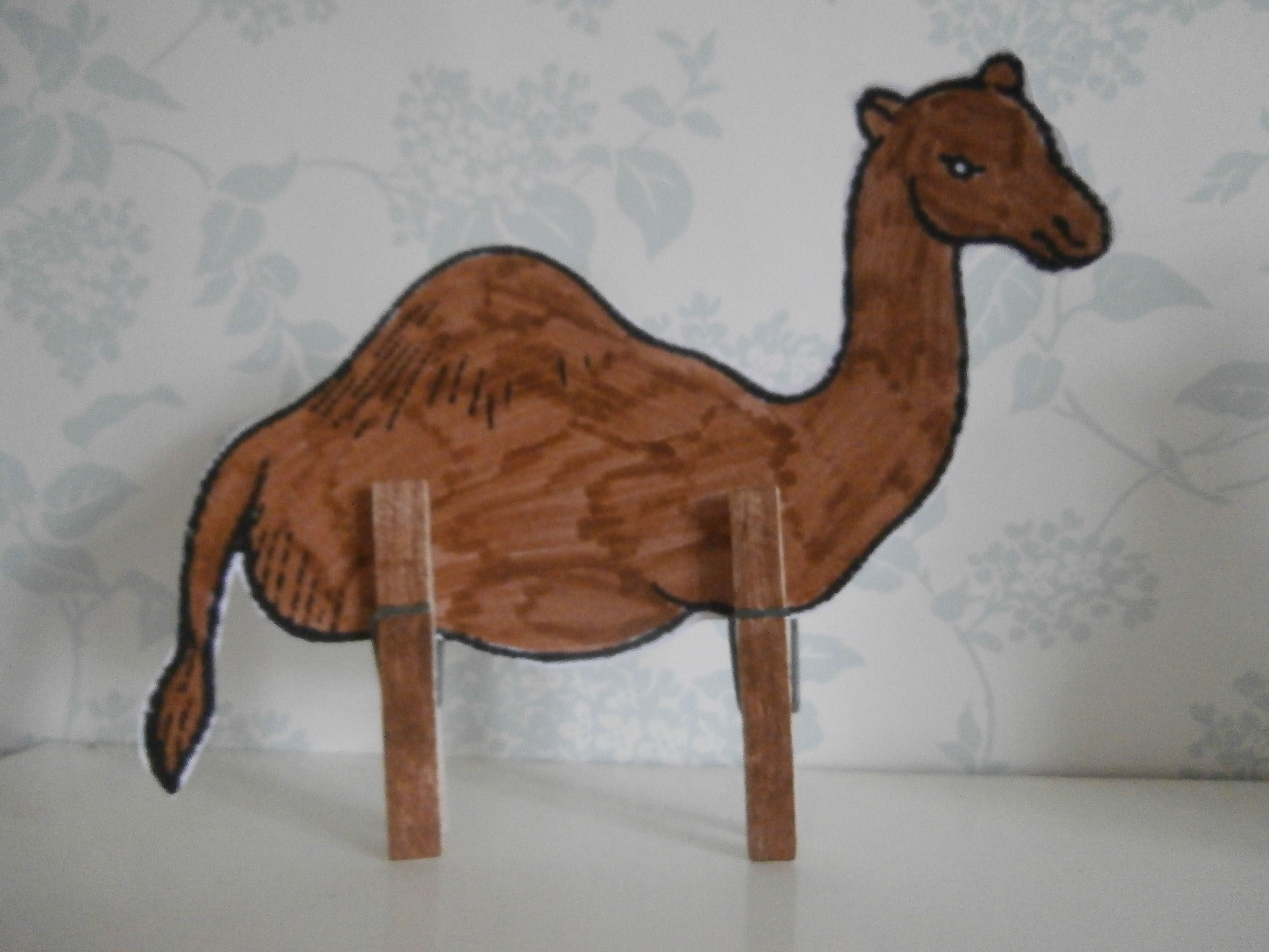 a camel from the story of isaac and rebekah a great idea to use
