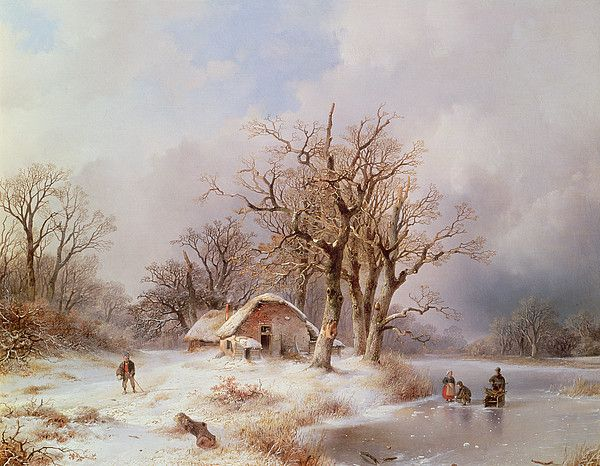 Pin By Erlin Ong On Winter Painting Winter Landscape Painting Winter Landscape Winter Painting