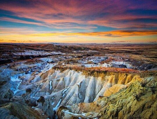 Paint Mines,  Calahan, CO.