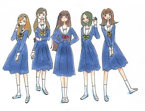 5つ数えれば君の夢 イラスト 少女 少女まんが