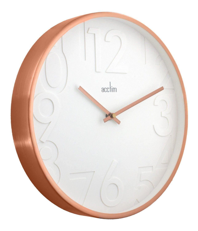 Acctim 27698 rostock wall clock copper acctim amazon acctim 27698 rostock wall clock copper acctim amazon amipublicfo Choice Image