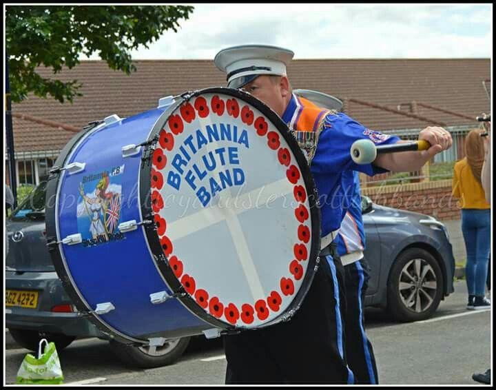 Britannia flute band shankill road west belfast band