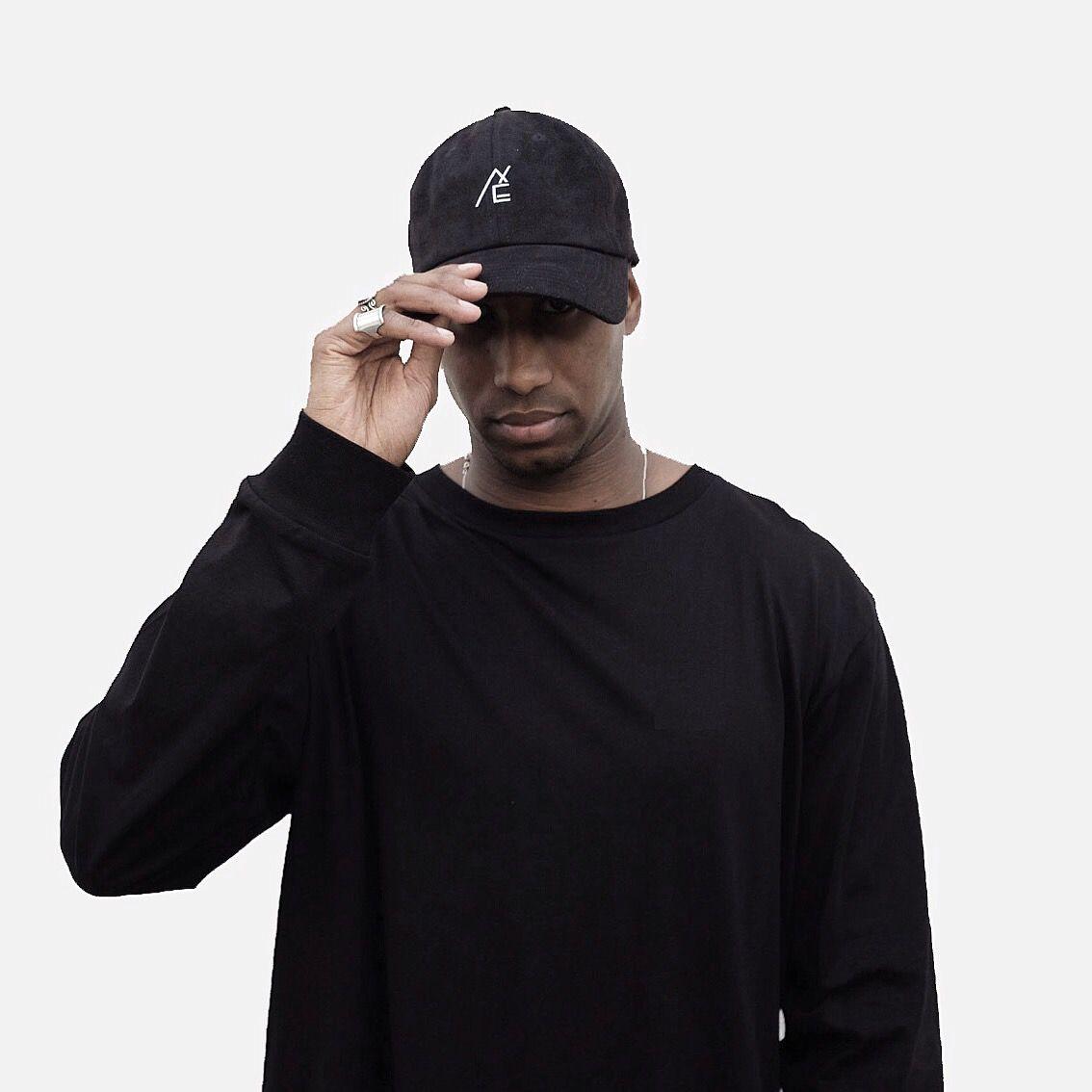 BASEBALL CAP BLACK SUEDE CASQUETTE NOIR SUEDE