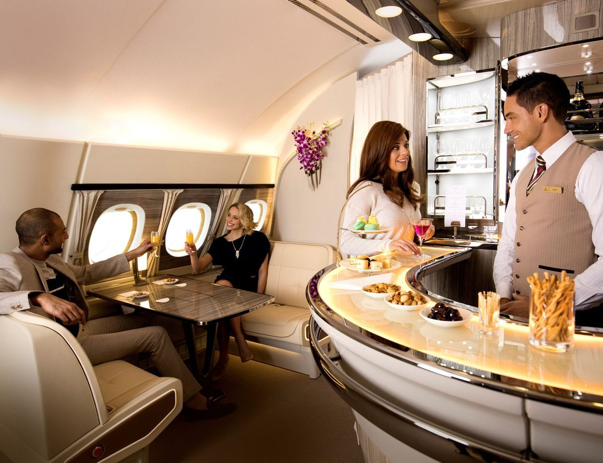 SupremeCapitalGroup on Business class, Emirates airline