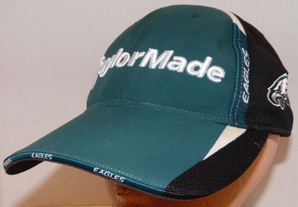 Philadelphia Eagles NFL Football Taylor-Made Brand Tmax Gear Golf Strapback  Hat  TaylorMade  PhiladelphiaEagles 19a7b93e9