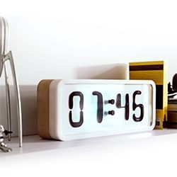 "Rhei - ""prototype of an electro-mechanical clock with a liquid display,.. created by Damjan Stanković, executed in collaboration with Marko Pavlović and many other wonderful people."""