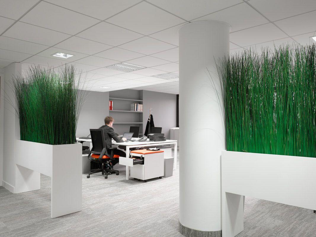 Green area at work by cléram style design bureau architecture