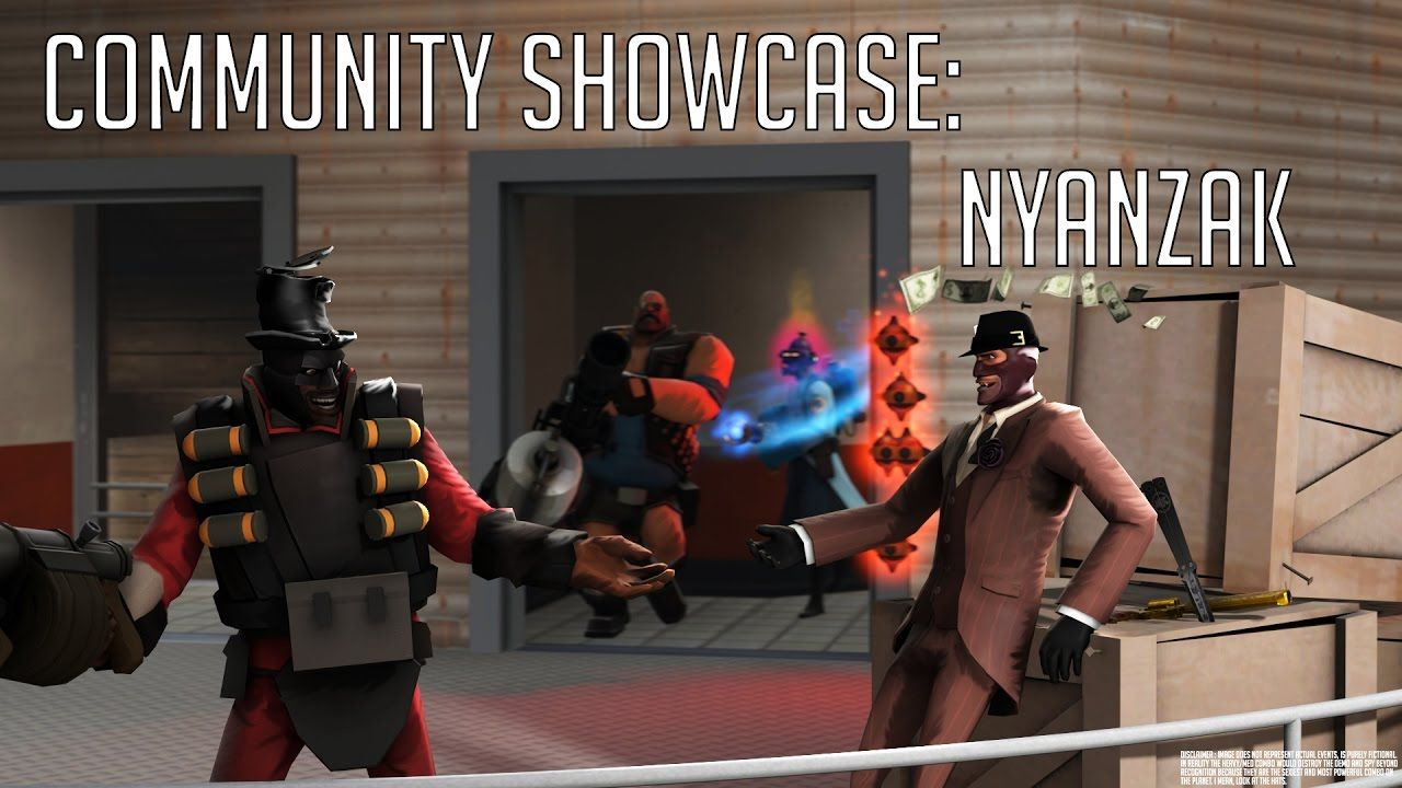 Interviewed NyanZak the backbone artist for RallyCall and Teamwork.tf #games #teamfortress2 #steam #tf2 #SteamNewRelease #gaming #Valve