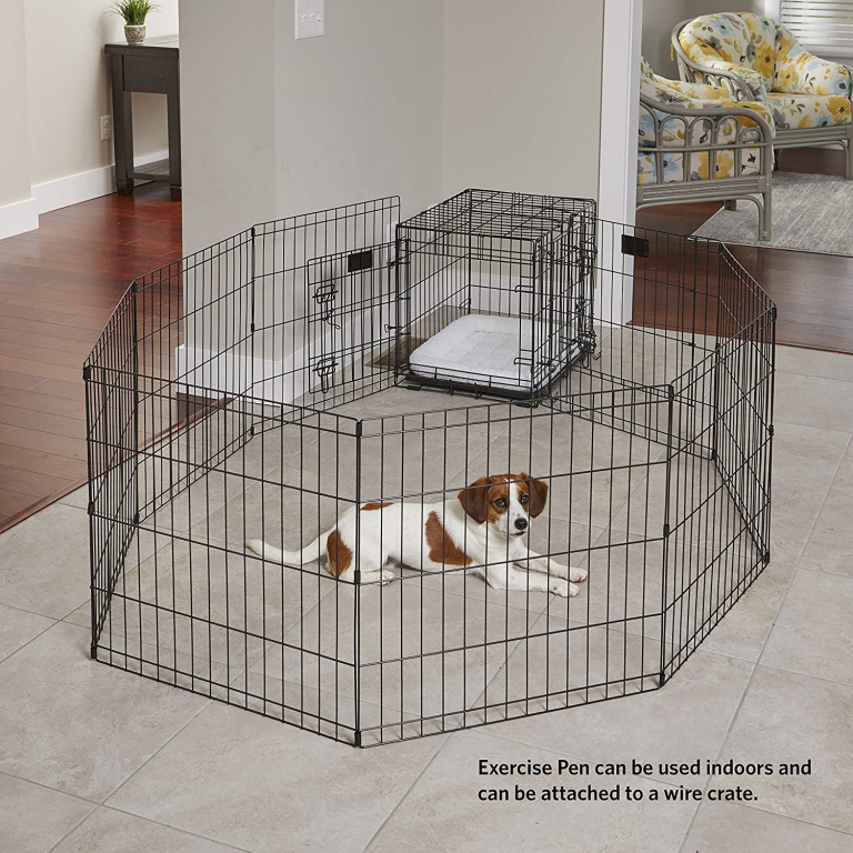 Crate Training A Puppy Made Easy Easy Steps To Get You Started Dog Playpen Crate Training Puppy Portable Dog Fence