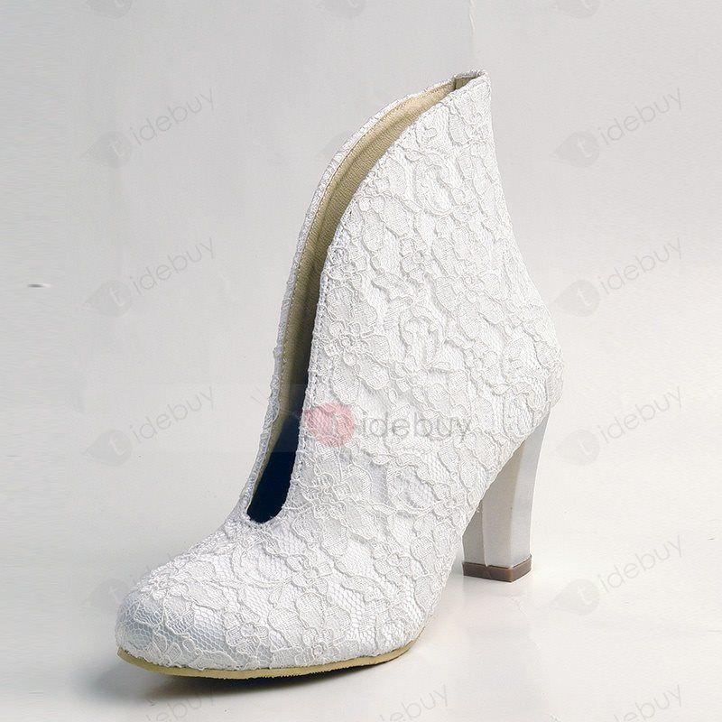 Spitze Mode Design Blockabsatz Stiefel 28€ Rabatt 109€+