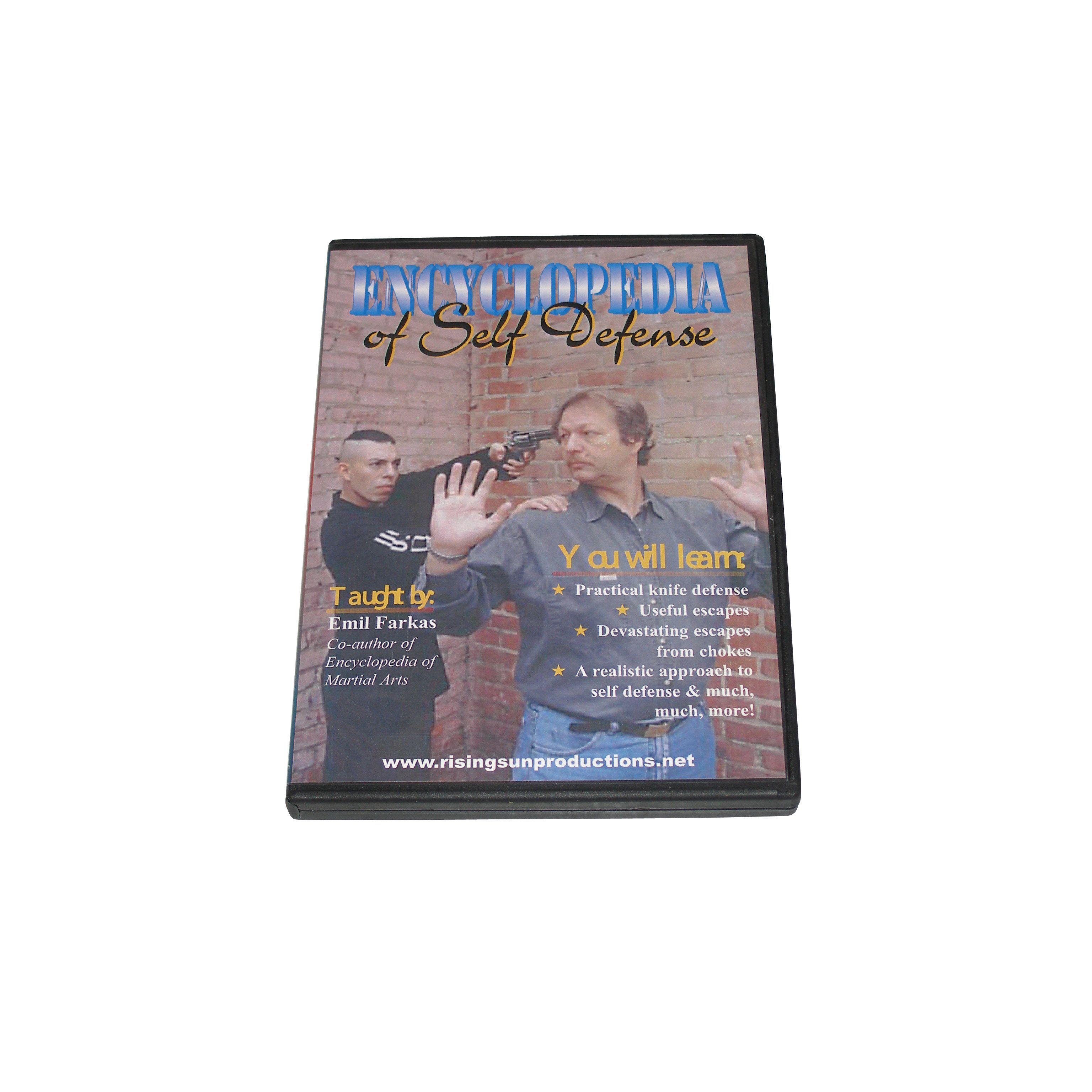 Encyclopedia of street fighting self defense dvd emil