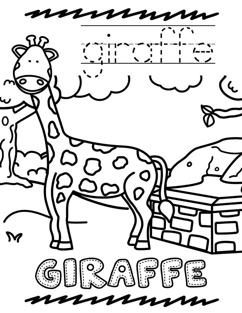 Free Printable Zoo Animal Coloring Book For Kids Zoo Animal Coloring Pages Zoo Coloring Pages Animal Coloring Books
