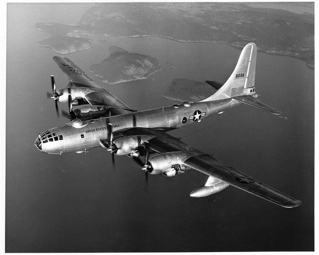 "Boeing B-50D-95-BO ""Superfortress"" .... A later derivative of the B-29"