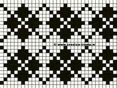knitting fair isle patterns - Google 検索