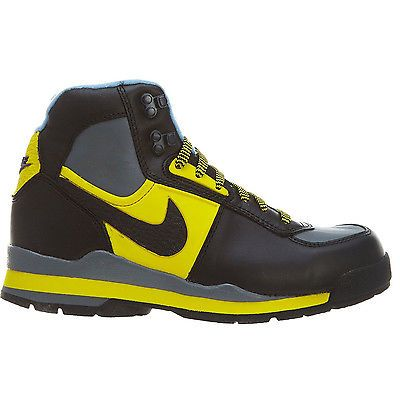 separation shoes 83bc9 62938 Nike Baltoro Le (Gs) Big Kids 311529-003 Black Yellow Boots Shoes Youth  Size 3.5