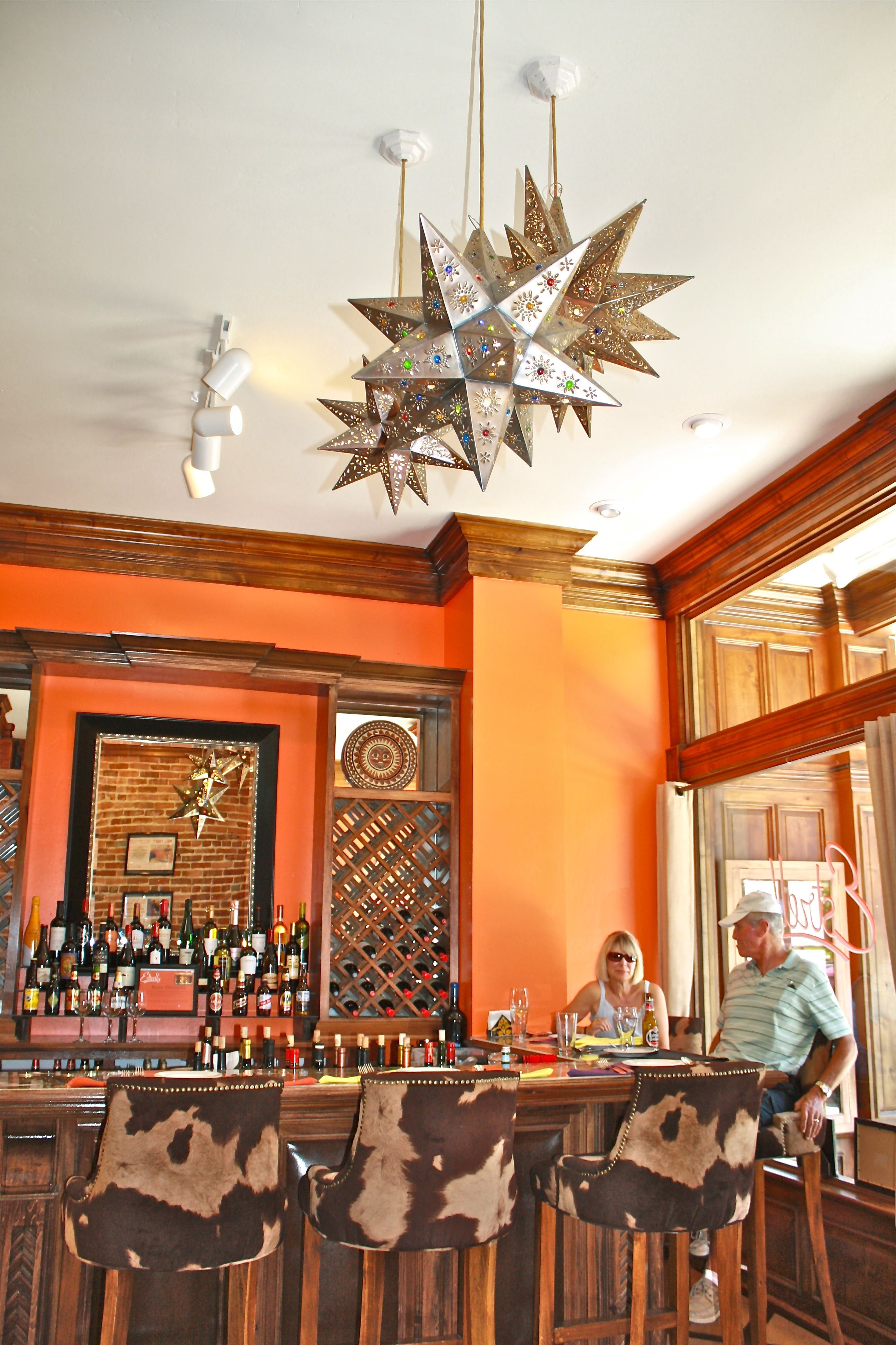 The Beautiful Estrella Restaurant Located In Downtown Paso