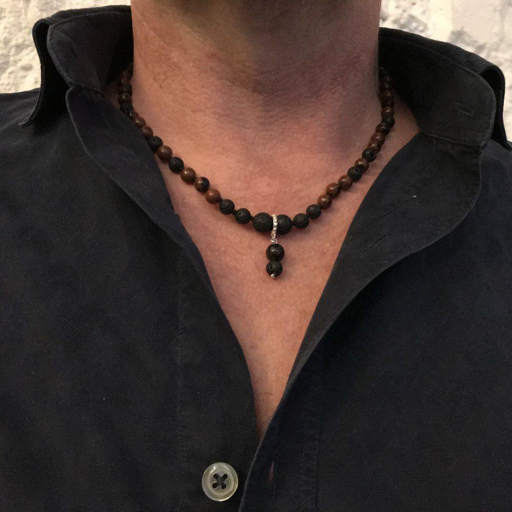 collier boheme homme