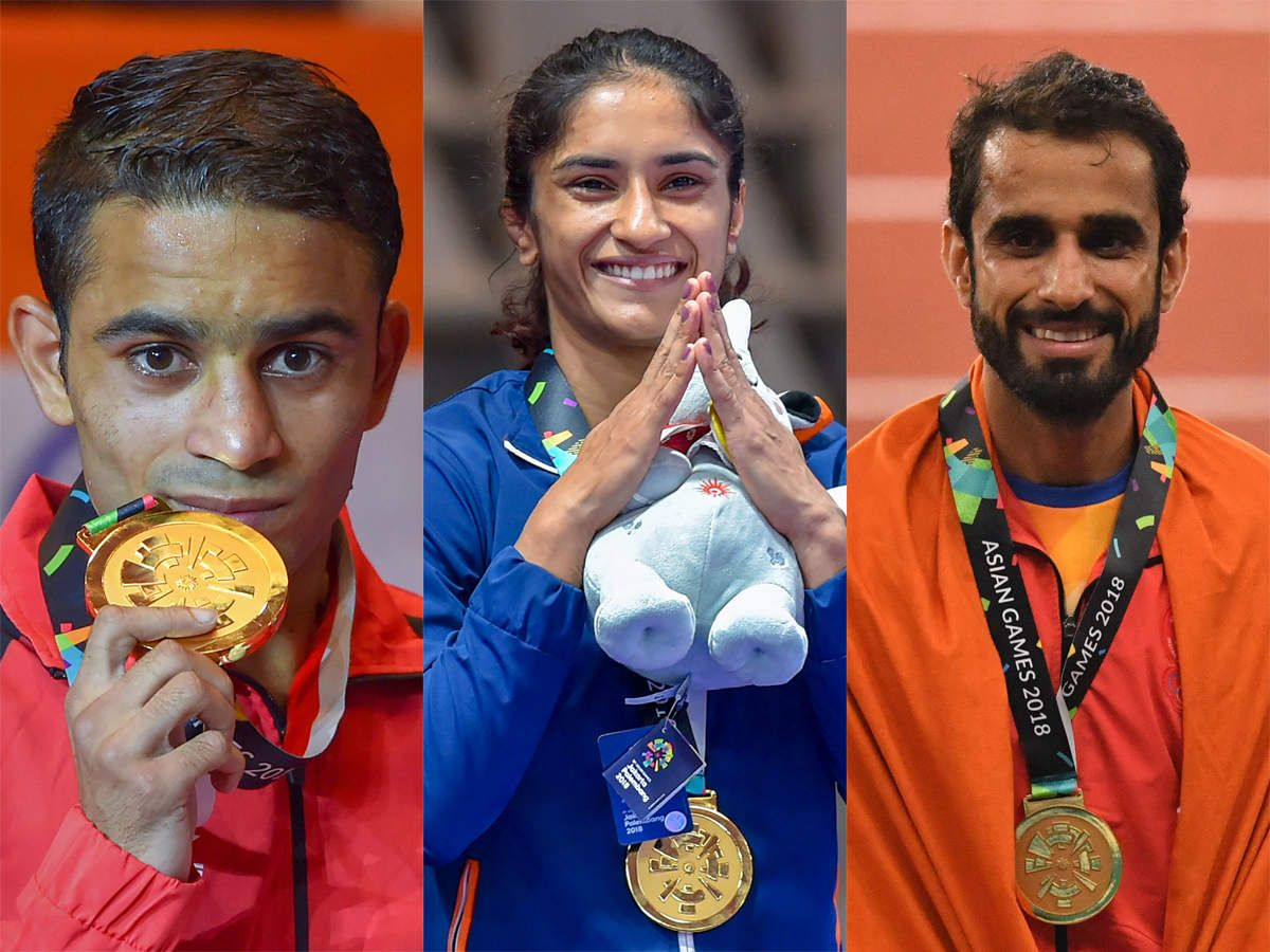 Government felicitates India's Asiad medal winners with