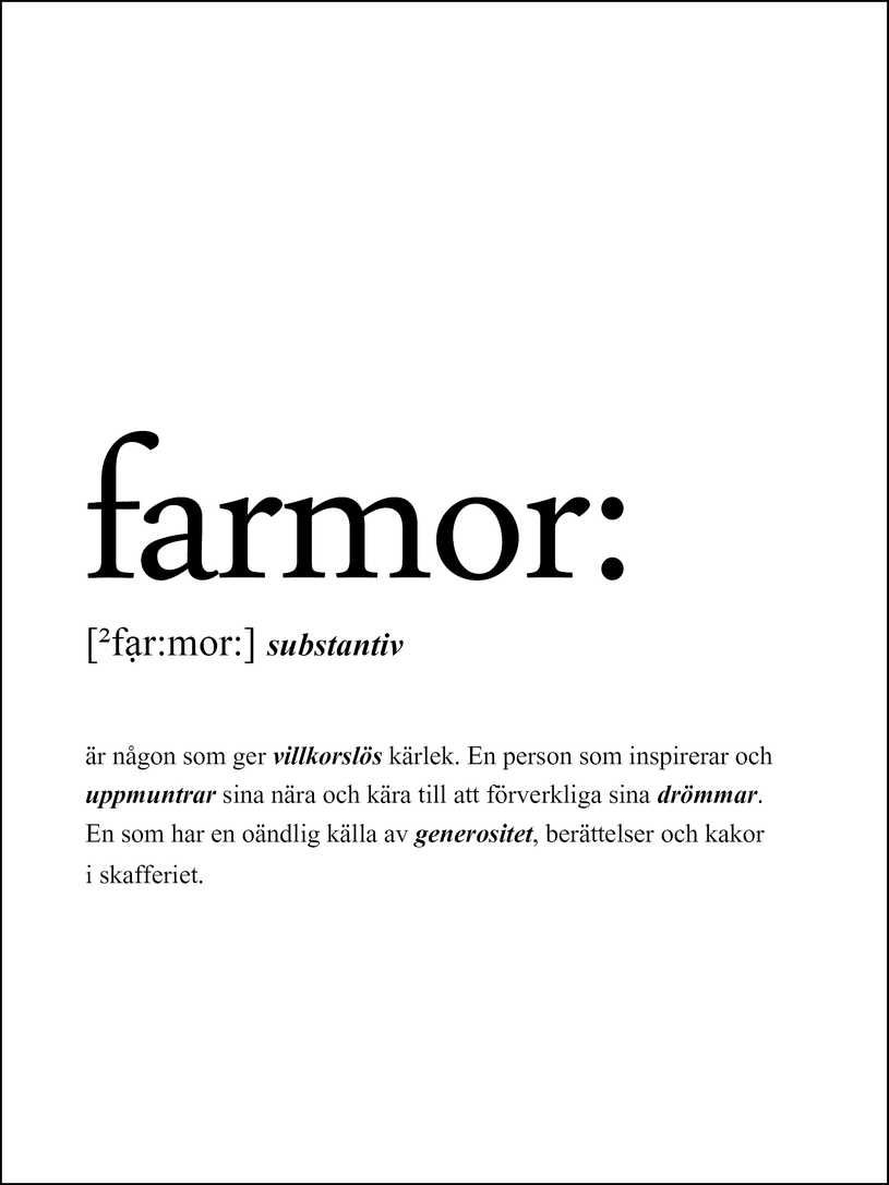 Farmor Citat