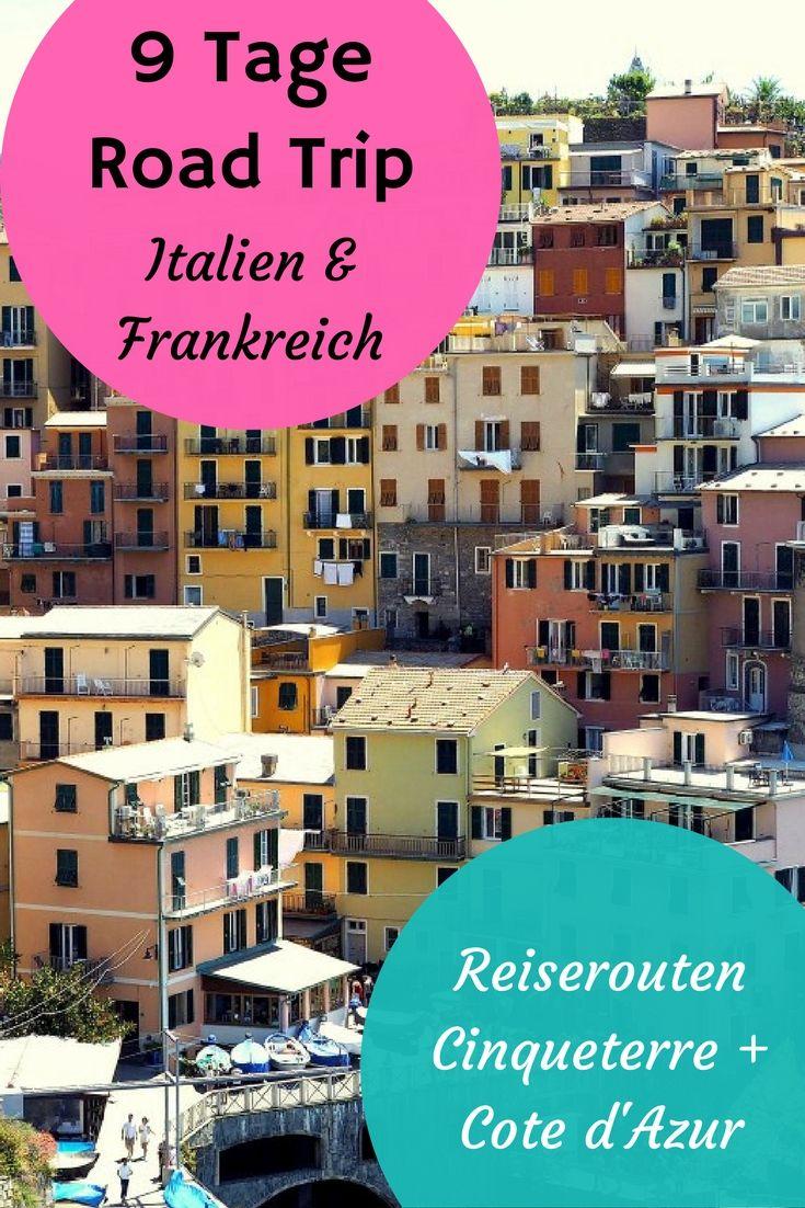 Reiseroute 9 Tage Cabrio Reise An Die Riviera Reisen Urlaub Mit