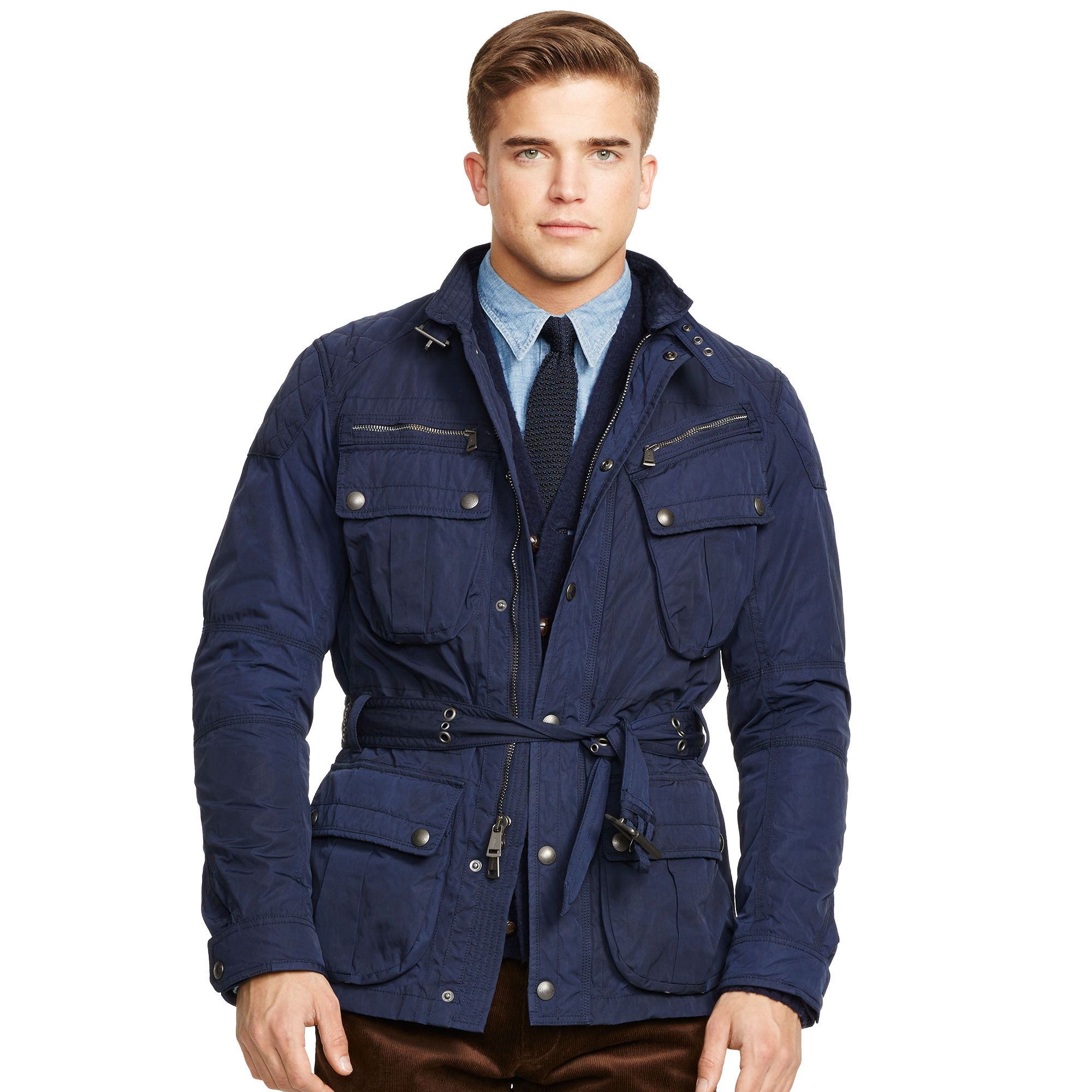 p black jacket quilt padded coats jackets c quilted ralph polo fashion down and mens nylon lauren