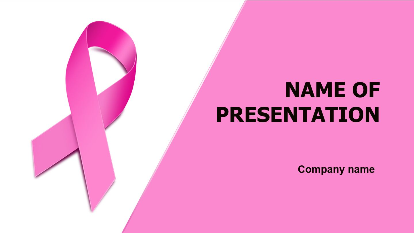 Women Breast Health PowerPoint theme. This beautiful and creative ...