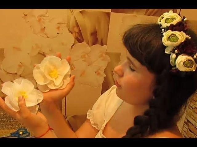 Подарок своими руками на День Матери DIY Декор Комнаты Цветы из бумаги поделки♥DIY♥Идеи рукоделия!