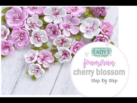 Kurs Na Kwiaty Z Foamiranu Foamiran Flowers Tutorial Lady E Design Dies Youtube In 2021 Foam Flowers Paper Flowers Handmade Flowers