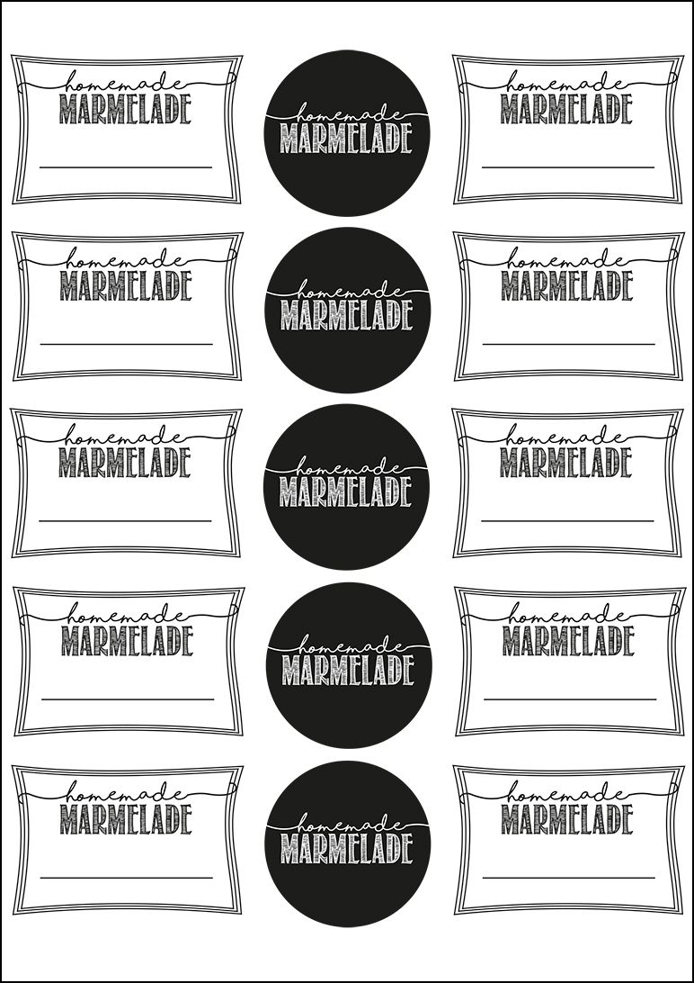 mehrere freebie zum ausdrucken hier marmelade etiketten pinterest printables free prints. Black Bedroom Furniture Sets. Home Design Ideas
